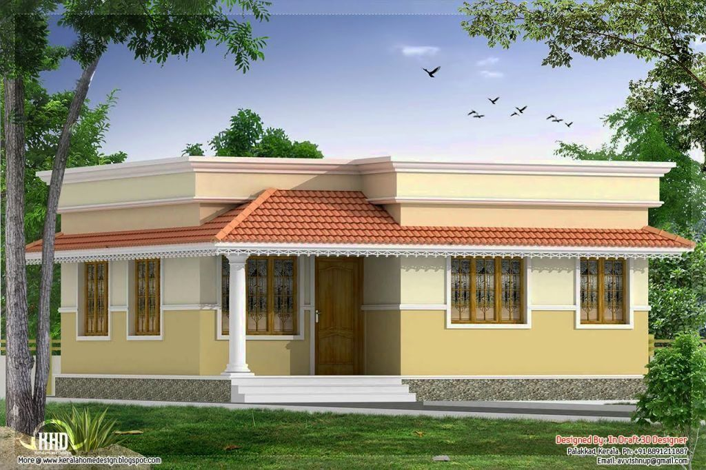 Village Small House Exterior Design In India Trendecors