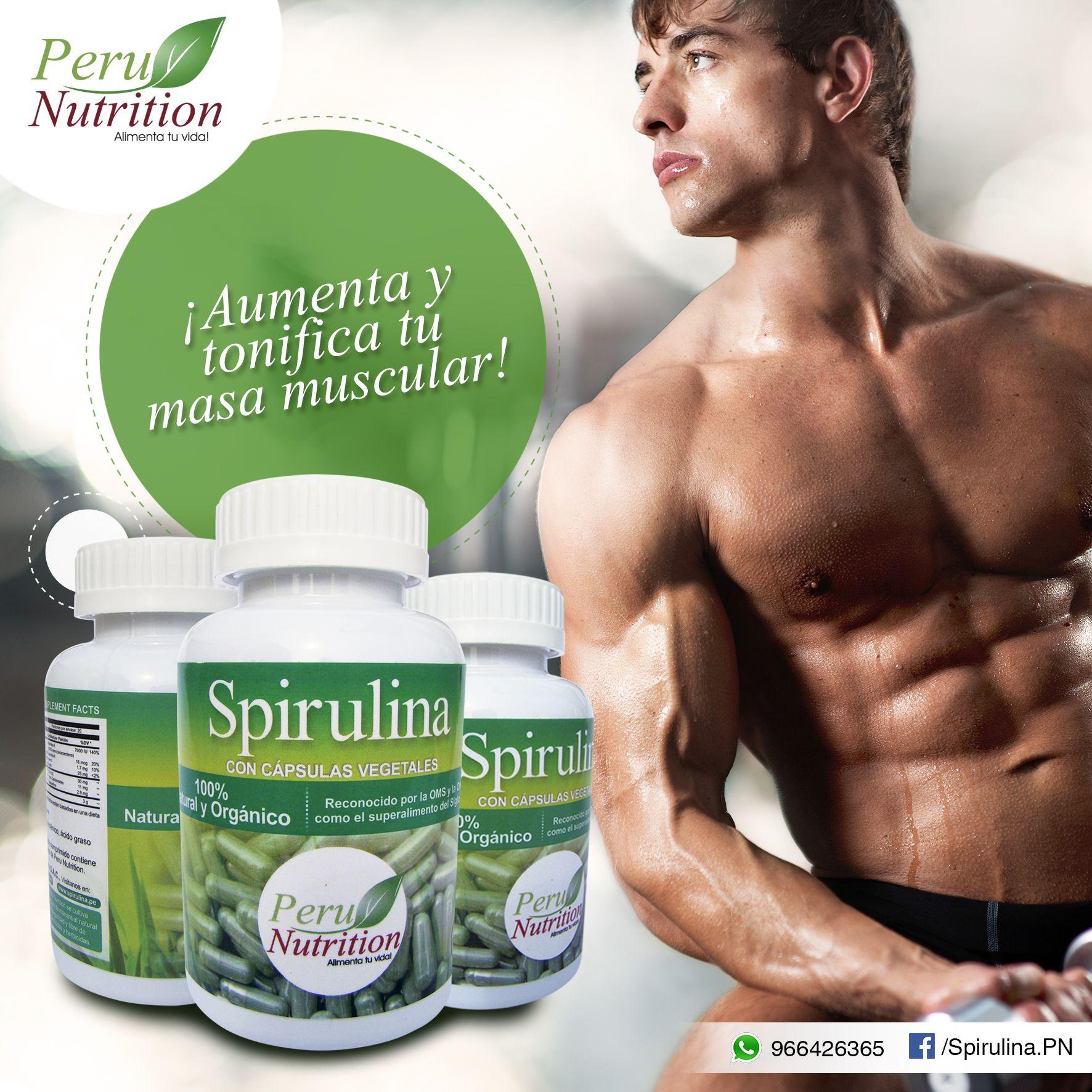Como tomar la spirulina para ganar masa muscular