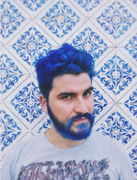 Men Dyeing Their Beards Bright Colors Is the Latest Trend in ...