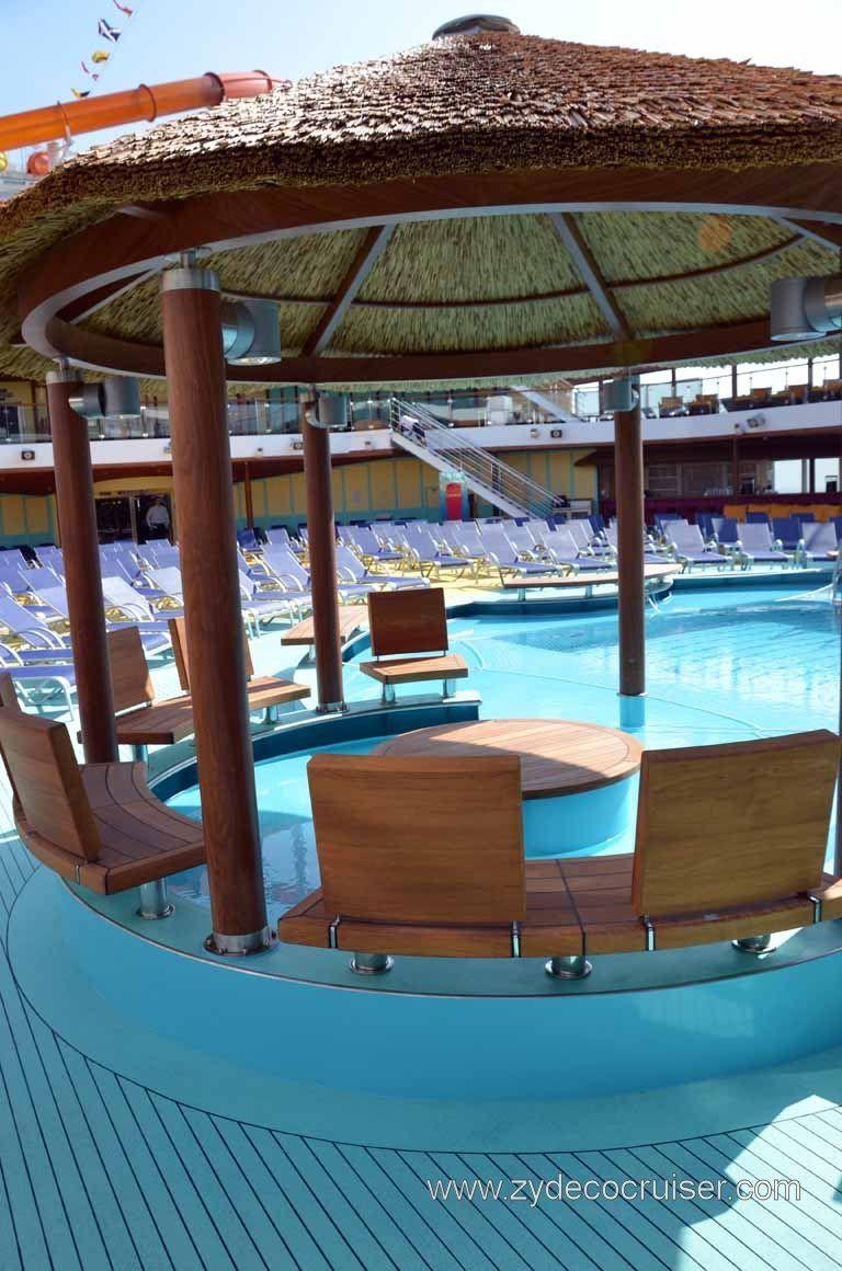 Pool Gazebo On My Honeymoon Cruise; Carnival Magic