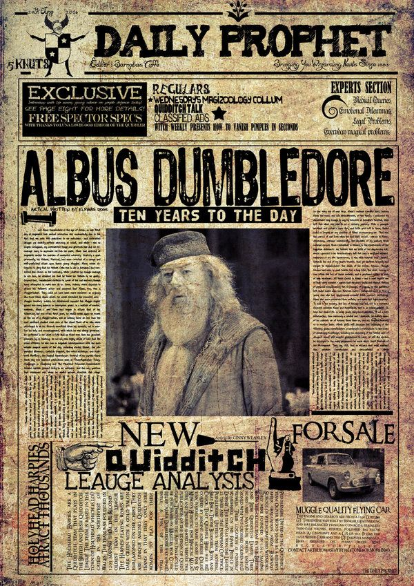 picture about Daily Prophet Printable identified as A lot of printables and DIYs for a Harry Potter occasion. Heaps