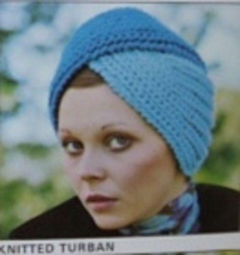 Knitted Turban Pattern By Patons Knitting Pinterest Turban