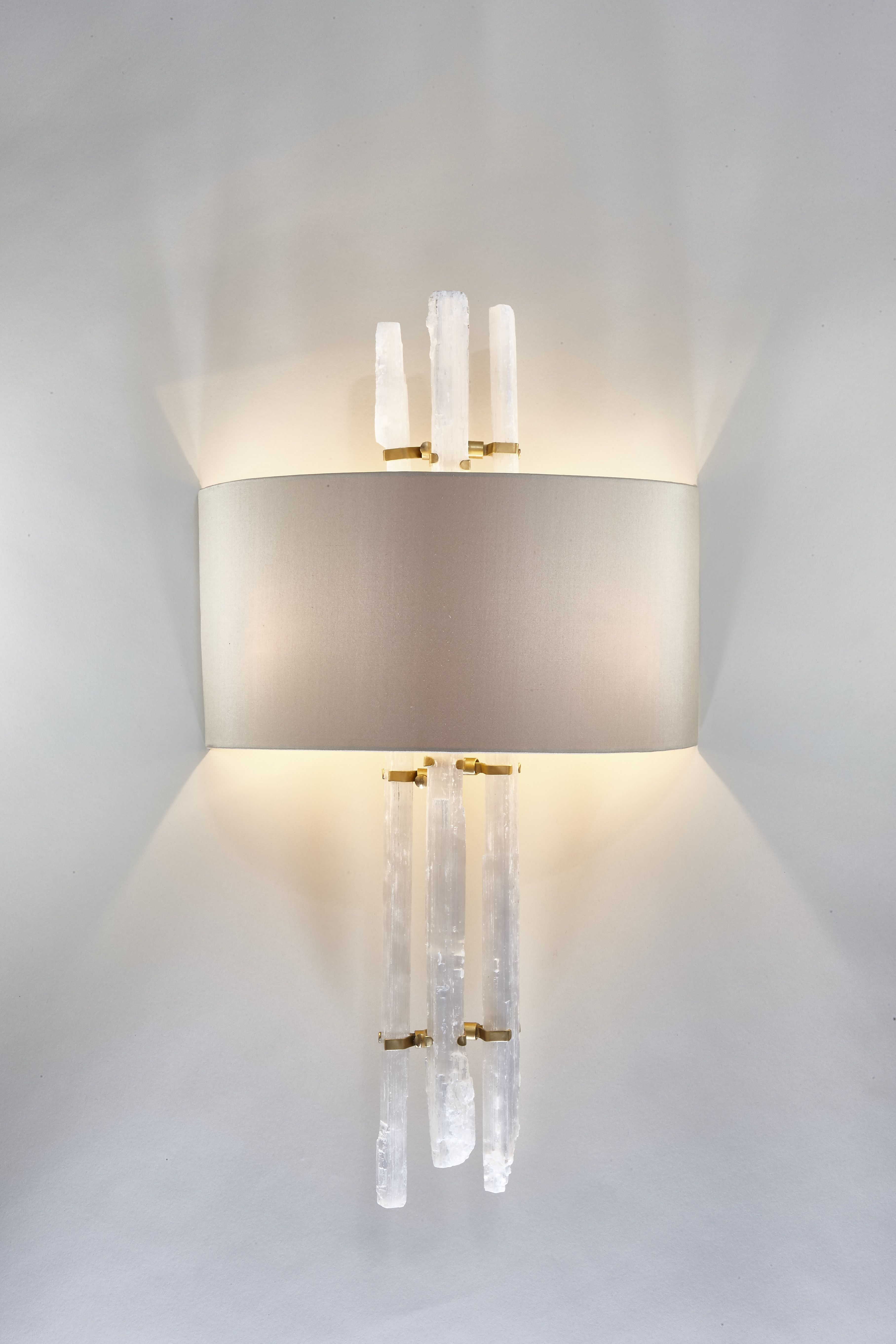 Bathroom Lights The Range rock crystal wall light made for cocovara interiorsphillips