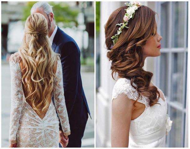 Kwiaty W Rozpuszczonych Wlosach Szukaj W Google Hair Styles Simple Wedding Hairstyles Stylish Hair
