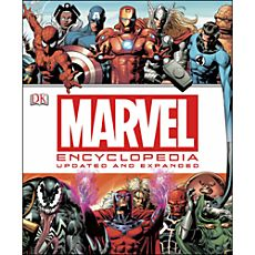 Marvel Encyclopedia 2014 Edition Book