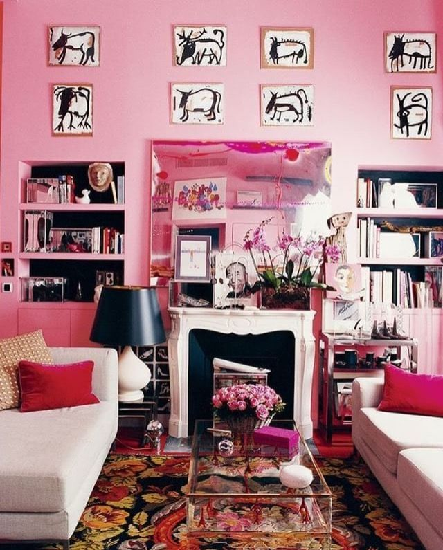 Colorful Formal Living Room Ideas Images - Living Room Designs ...