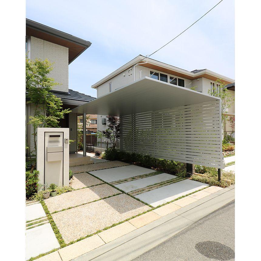 神戸市西区 T様邸 エクステリアデザイン神戸カーポートsc Lixil 2020 エクステリア 神戸 カーポート
