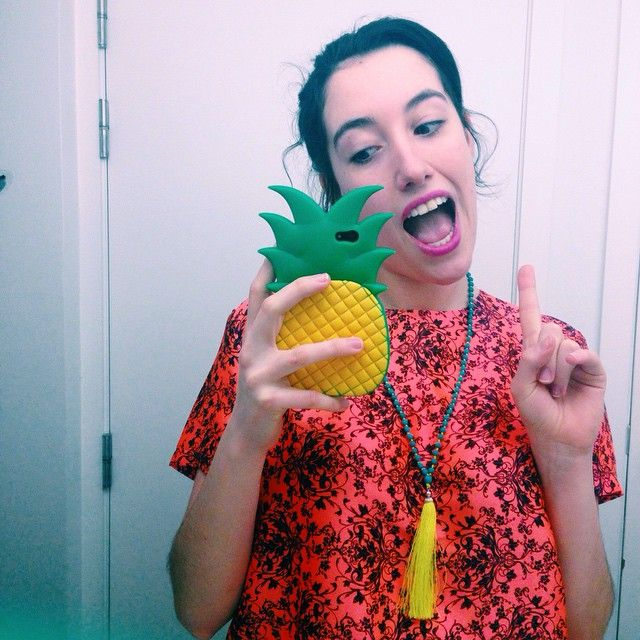 A  a day keeps the doctor away! #latergram #vsco #nativerose #pineapples