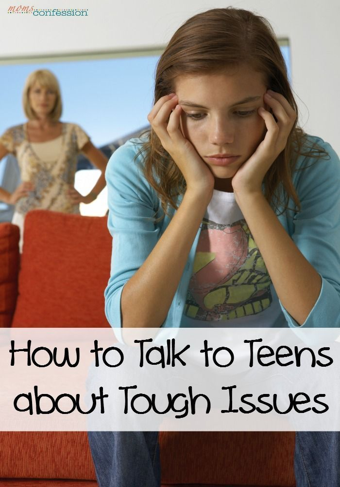 teen issues information for parents