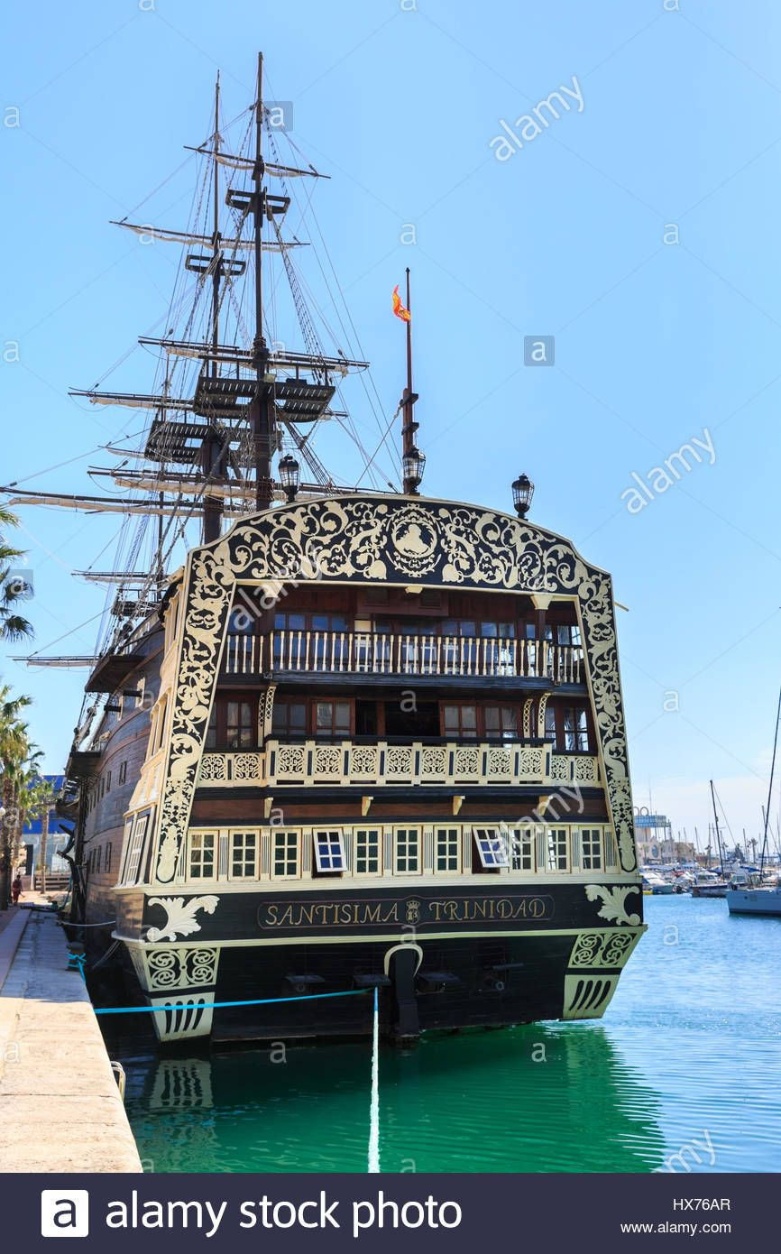 replica of the spanish