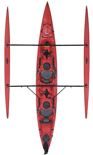 Hobie Kayaks Tandem Island Hobie Red Hibiscus - dream boat!