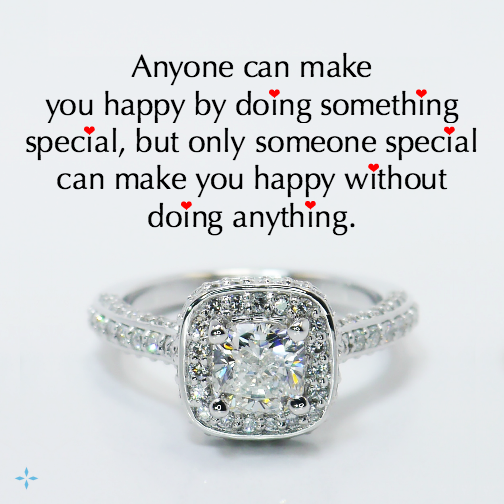 Only someone special... (Custom engagement ring by