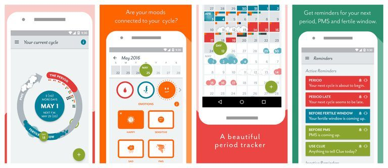 5 Period Tracker Apps That Know More About Your Body Than