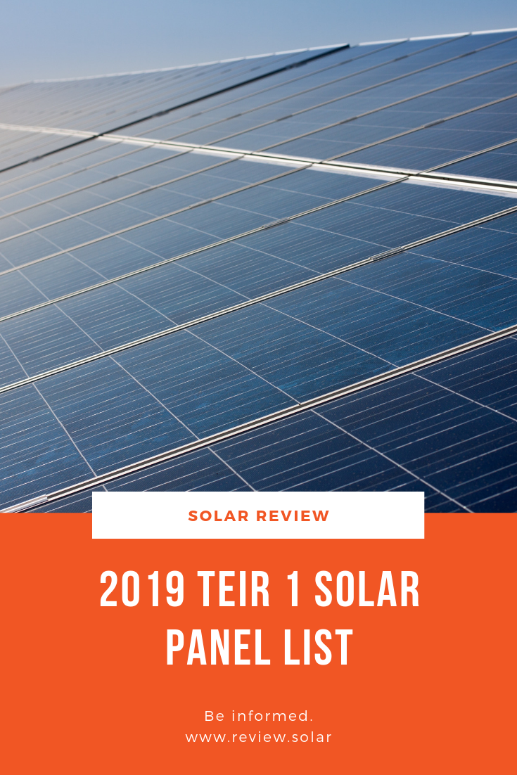 A New Year And Another 4 Quarters Of Fluctuating Manufacturers Depending On Who Chooses To Pay To Be On The Latest Tier 1 S Solar Panels Solar Solar Technology