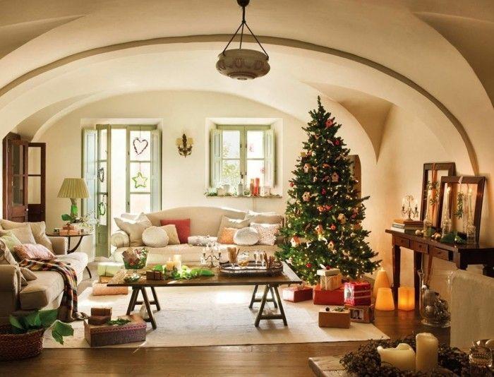 deko zu weihnachten gemuetlich schoen wohnideen wohnzimmer - wohnideen für wohnzimmer