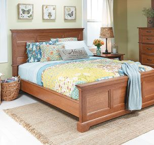 Bedroom Set Oak Bed Woodsmith Plans The Showpiece Of Any