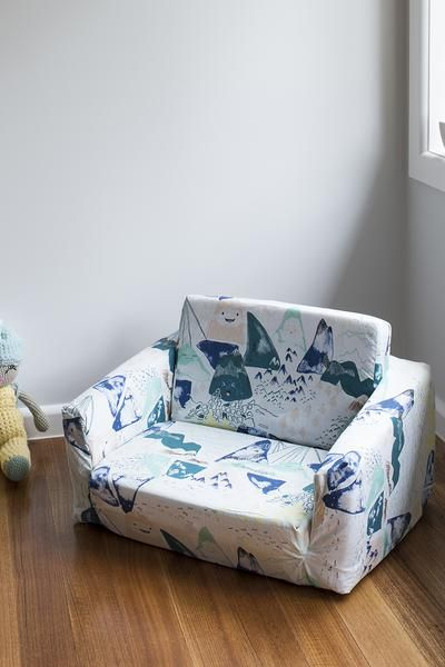 Cool Blue Mountains Toddler Couch Cover Baby Wishlist Creativecarmelina Interior Chair Design Creativecarmelinacom