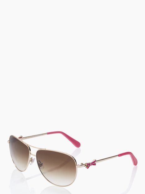 58db541e2667 Kate Spade sunglasses with a pink bow on the side.... love ...