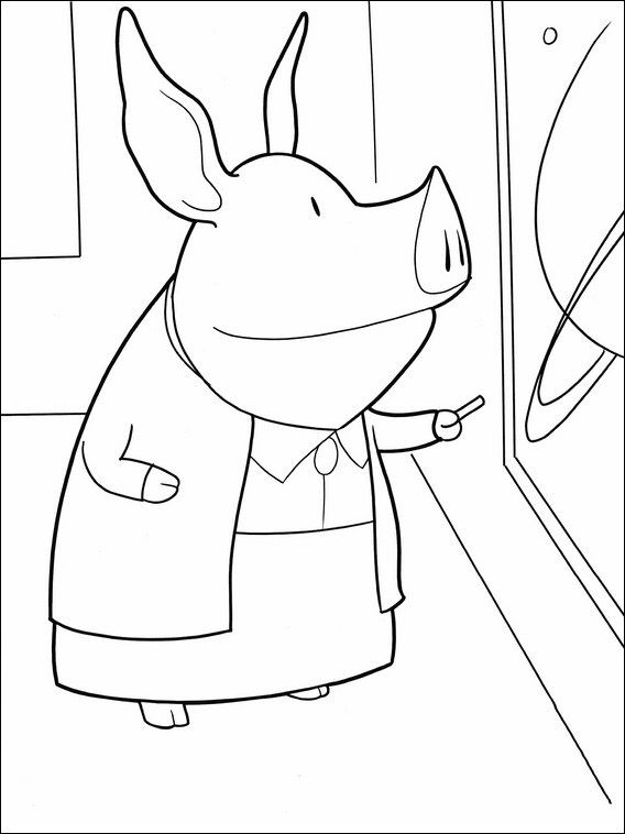 Olivia Coloring Pages 33 | Coloring pages for kids | Pinterest
