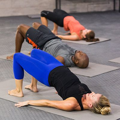 Make the most of your television binge session with these moves that will tighten and tone your rear. | Health.com