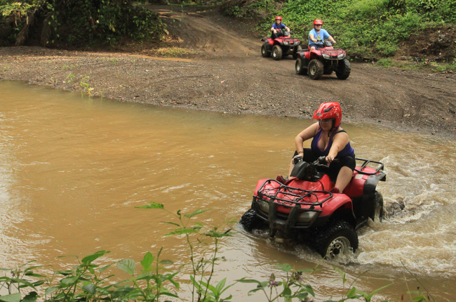 fourtrax river   - Costa Rica
