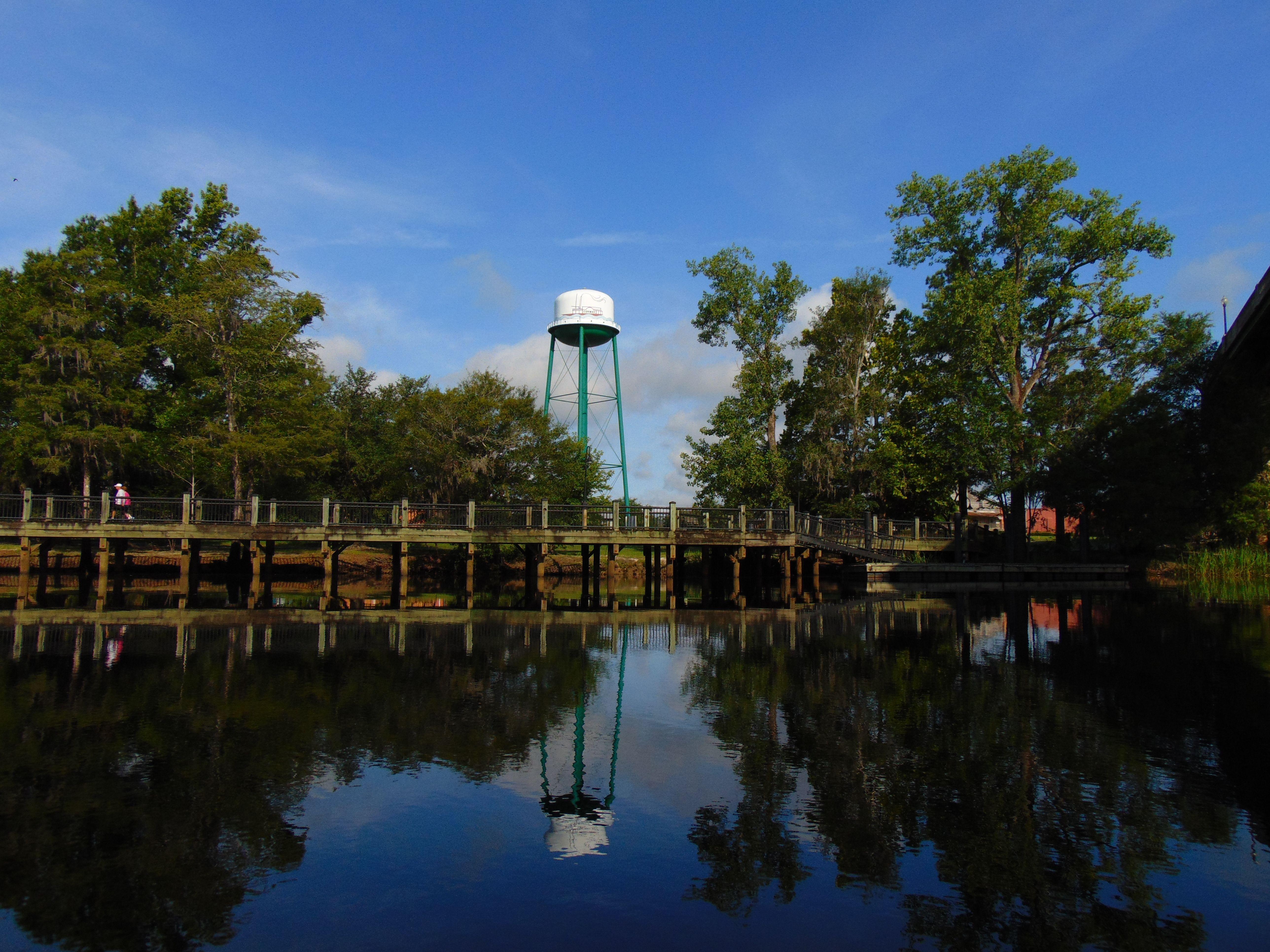 Conway water tower adventure tours kayak tours boat tours