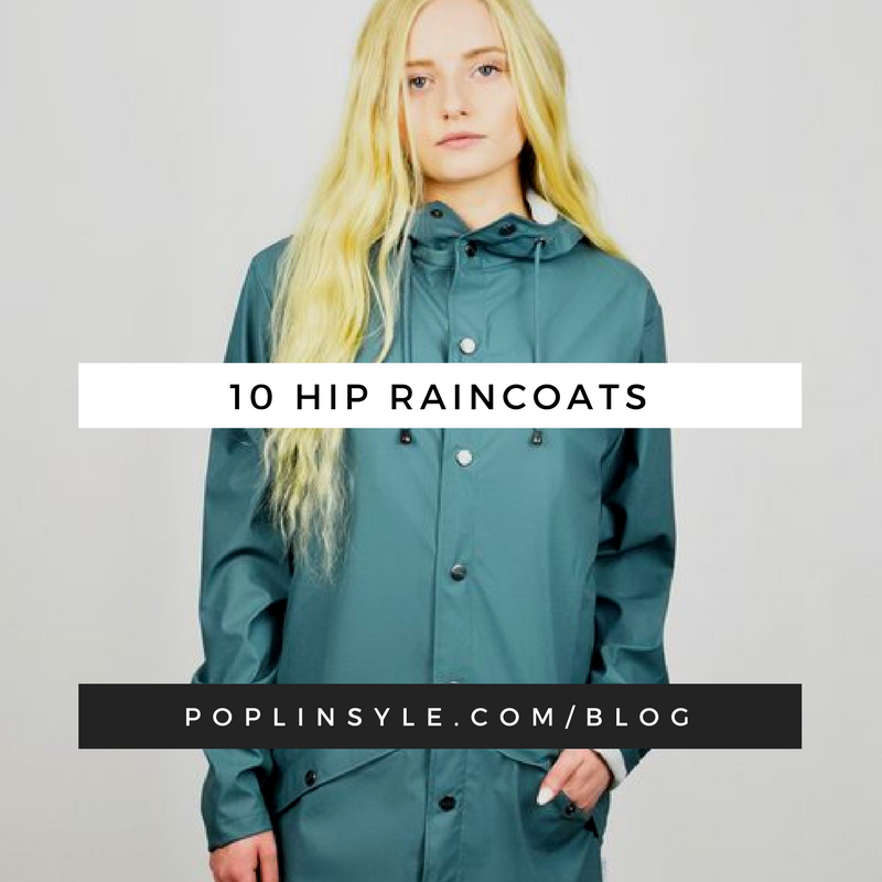 78846ea64a6 10 Hip Fashionable Raincoats blog post including body type
