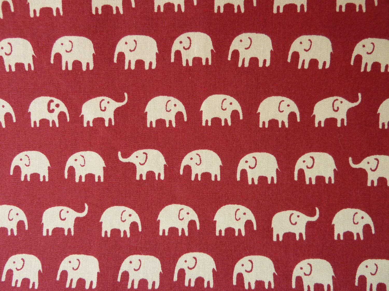 Multicoloured Elephants 100/% cotton fabric by Robert Kaufman