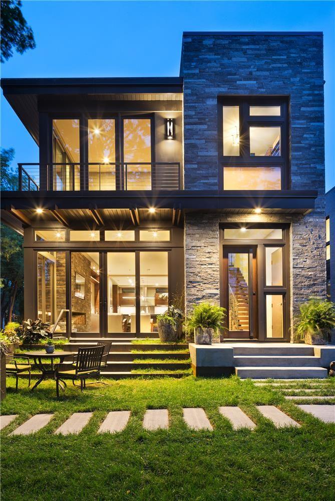 The Best Exterior House Design Ideas: 2016 Integrity Red Diamond Achiever Winner: Lake Calhoun Modern Organic. The Home's Graceful