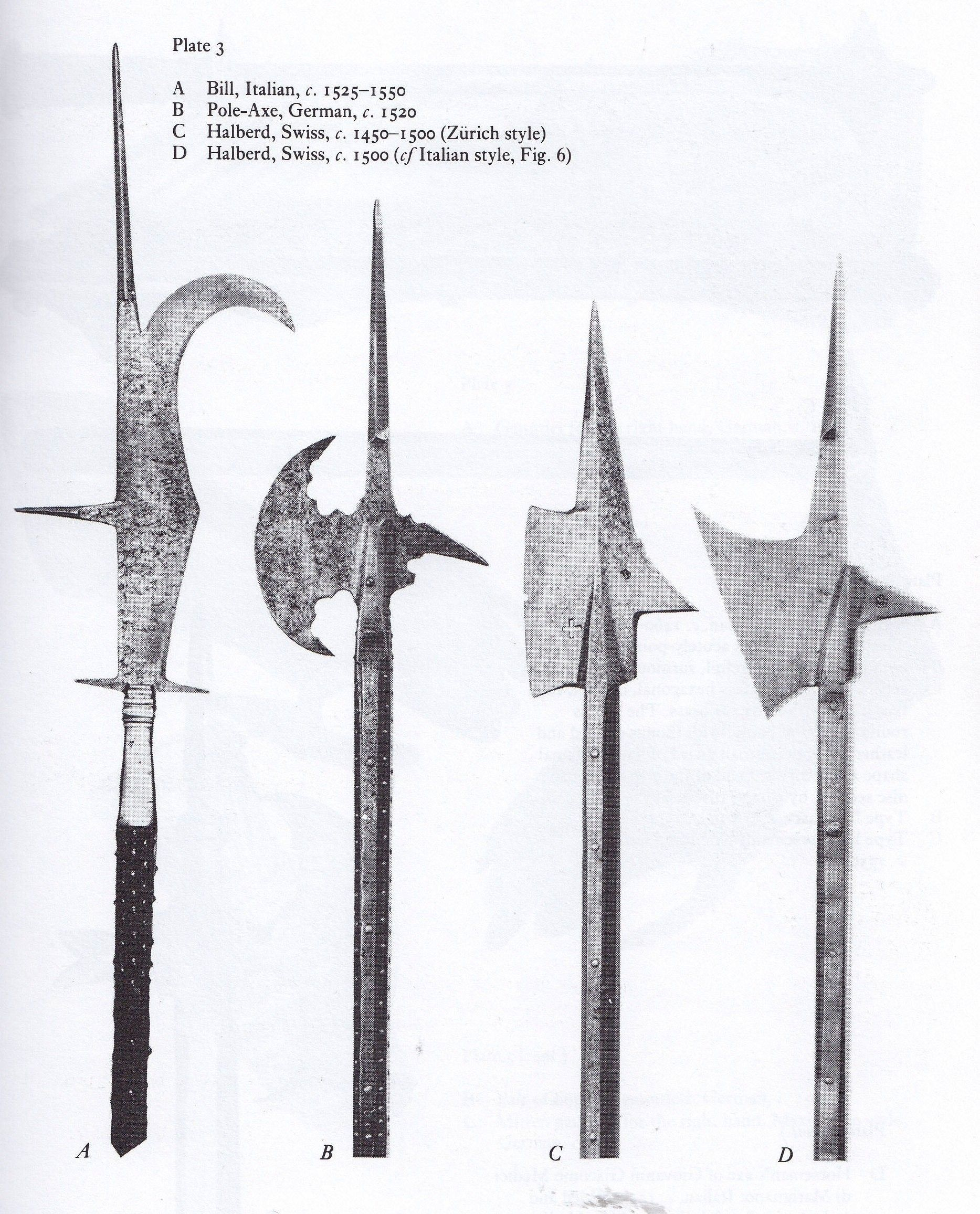 Halberd Other European Polearms Pdf