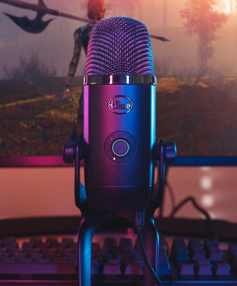 Blue Yeti X Blue Yeti Gaming Microphone Blue Mic