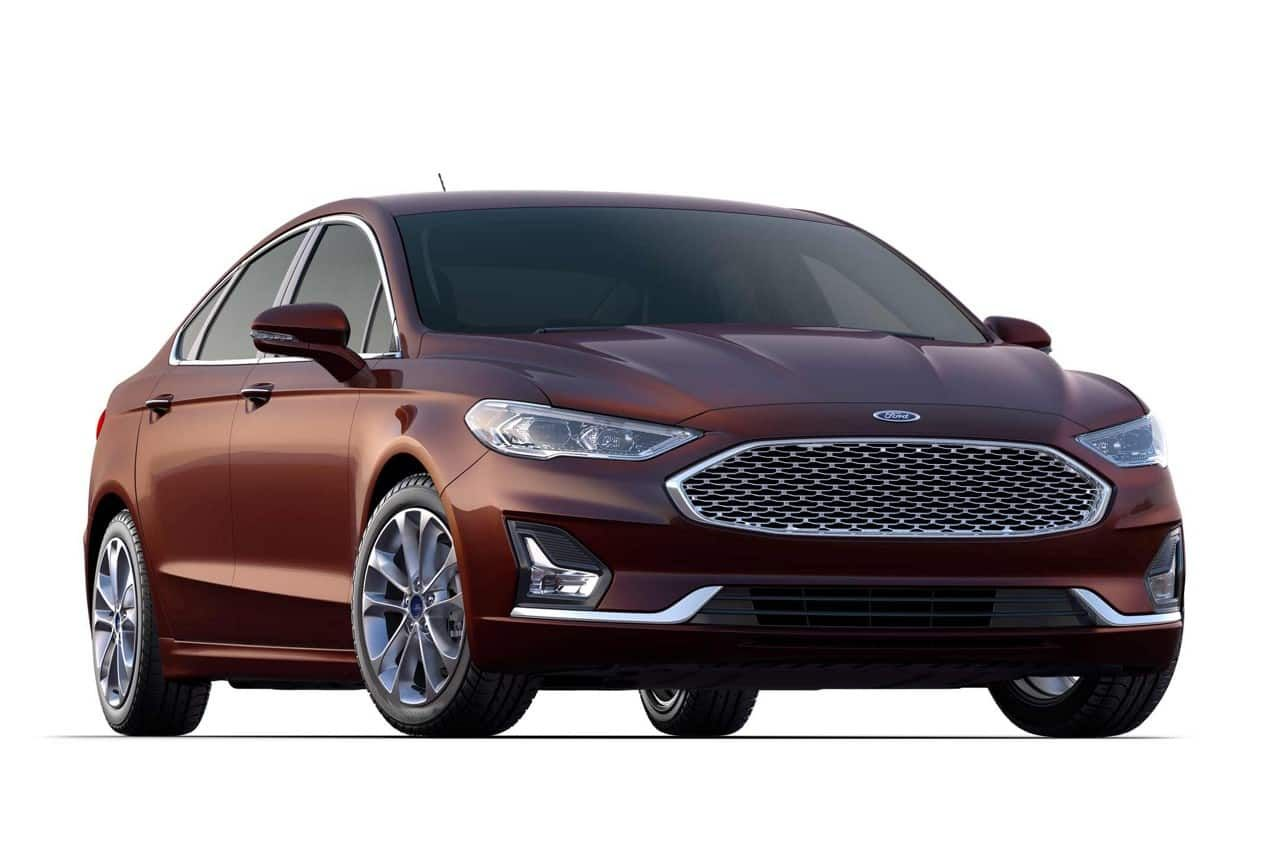 2019 Ford® Fusion Energi Titanium Sedan Model Highlights
