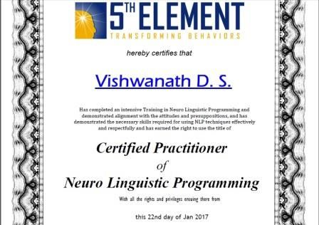 Congratulations Vishwanath D S, Senior Bureaucrat (IAS) (Retired), on receiving your Prestigious NLP Practitioner certification.  #NLP #Training from Anil Dagia in #Mumbai, #Pune ( #India ) #ICF #NLP #PRACTITIONER #DUAL #Certification #Life #Coach Training  APR #Mumbai - http://anildagia.com/training-calendar/nlp-certification/anil-dagia-s-nlp-practitioner-certification-training-apr-2017-mumbai