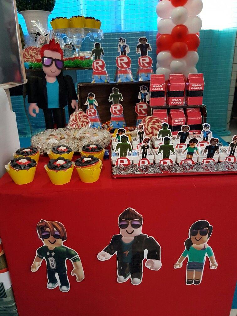 Roblox 1kellan Bday 2017 Twin Birthday Parties 6th