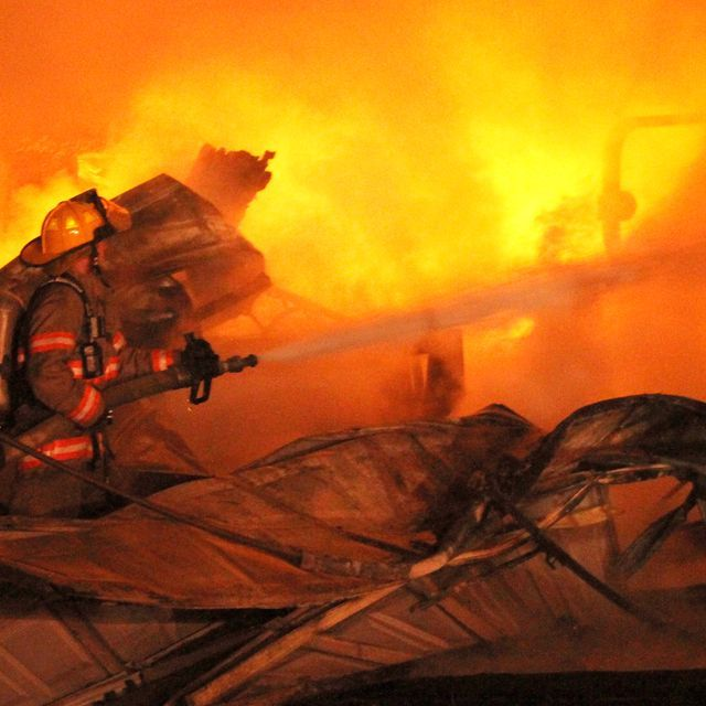 It was not immediately known if any animals died in the blaze.  Horse barn fire..... another one.