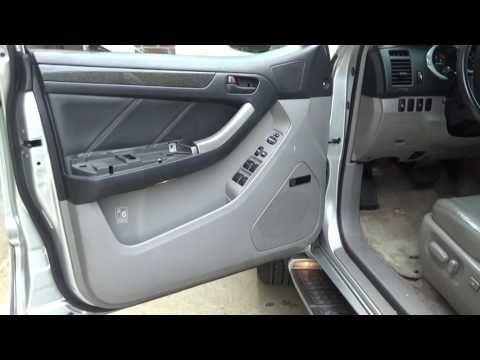 Remove Door Panel On 2004 Toyota 4runner Youtube Toyota 4runner 4runner Panel Doors