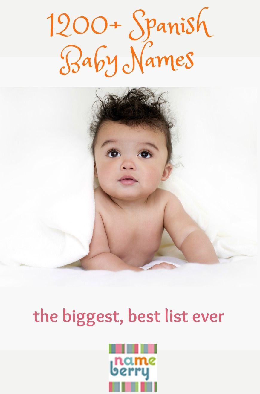 Every Spanish Baby Name On Nameberry -- 1200 Choices  International -7929