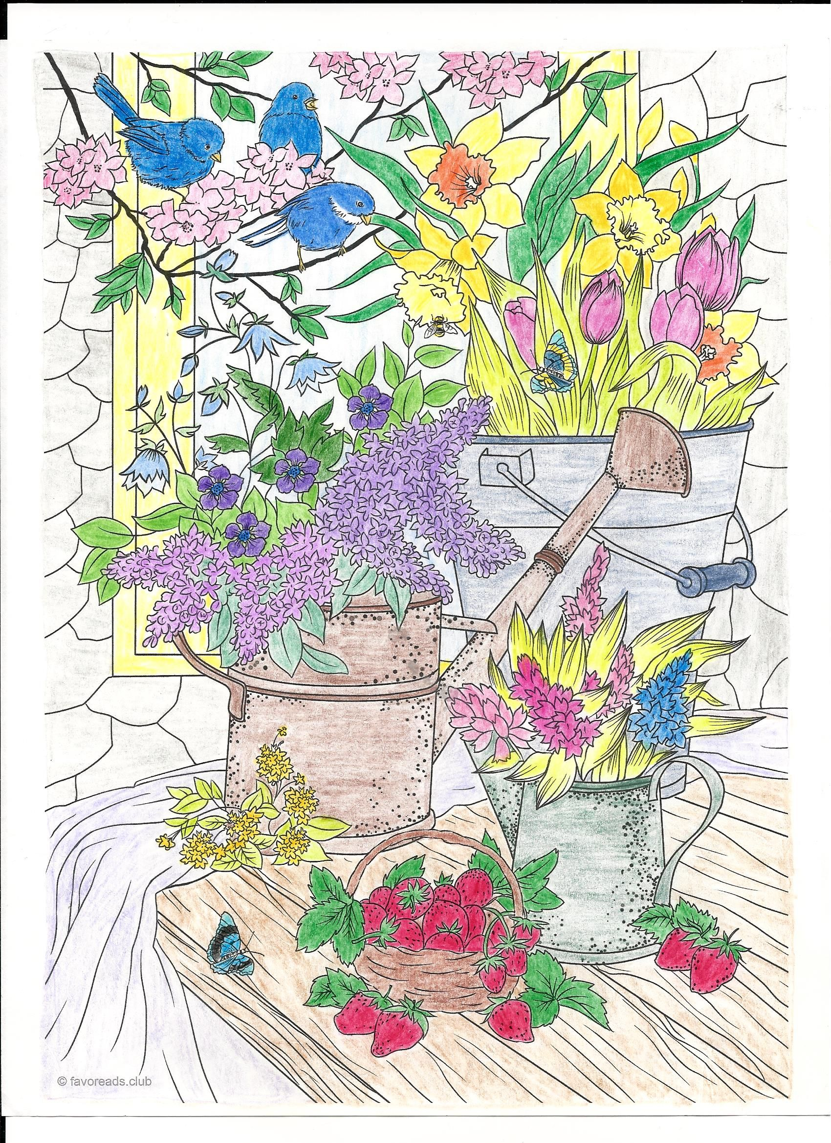 Summer Vibes   Printable adult coloring pages, Adult ...