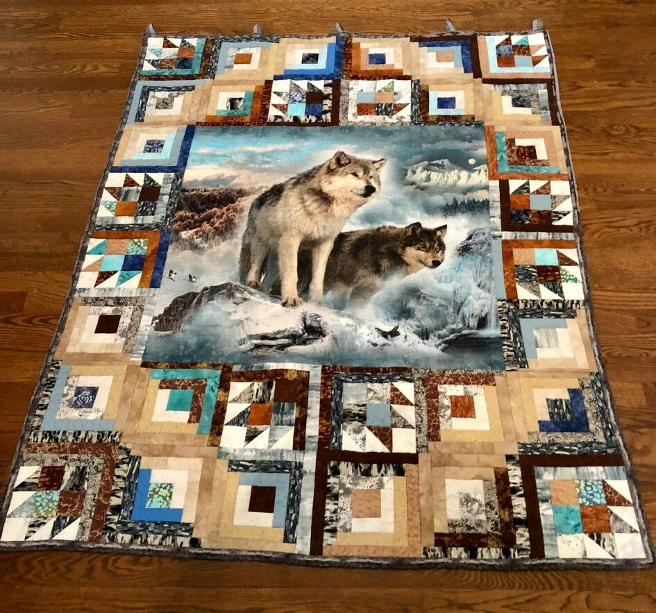 Lindsay S New Quilt Wildlife Quilts Panel Quilt Patterns Picture Quilts