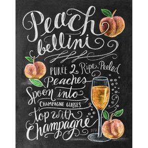 Plakát Lily & Val Peach Belini