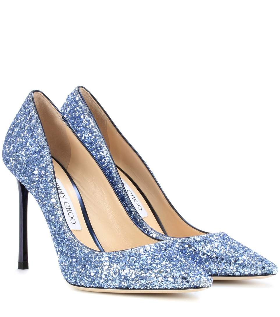 553bb169ec2 get jimmy choo blue pumps c5d76 7f596  coupon code for jimmy choo romy 100  glitter pumps. jimmychoo shoes current week 53ae9 8fb67