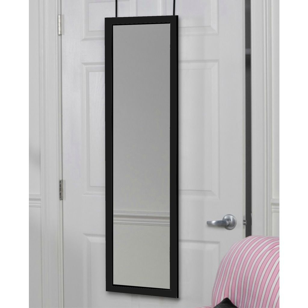 Attrayant This Over The Door Mirror Saves Space And Offers An Essential Service: You.  Brackets Hang This Mirror Without Snags And Jams So You Can Always Close  The ...