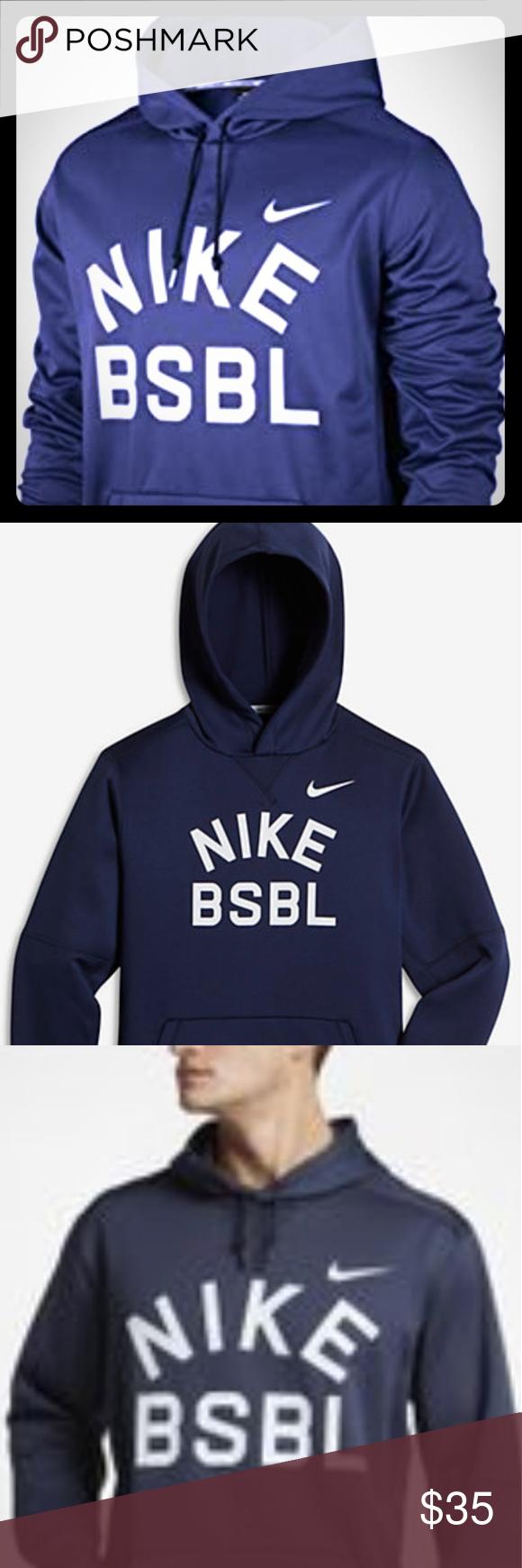 Nike Baseball Thermafit Hoodie Hoodies Sweatshirt Shirt Nike [ 1740 x 580 Pixel ]