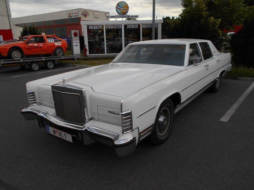 Diesen Lincoln Continental mit Automatik und Klimaanlage gibts bei ...