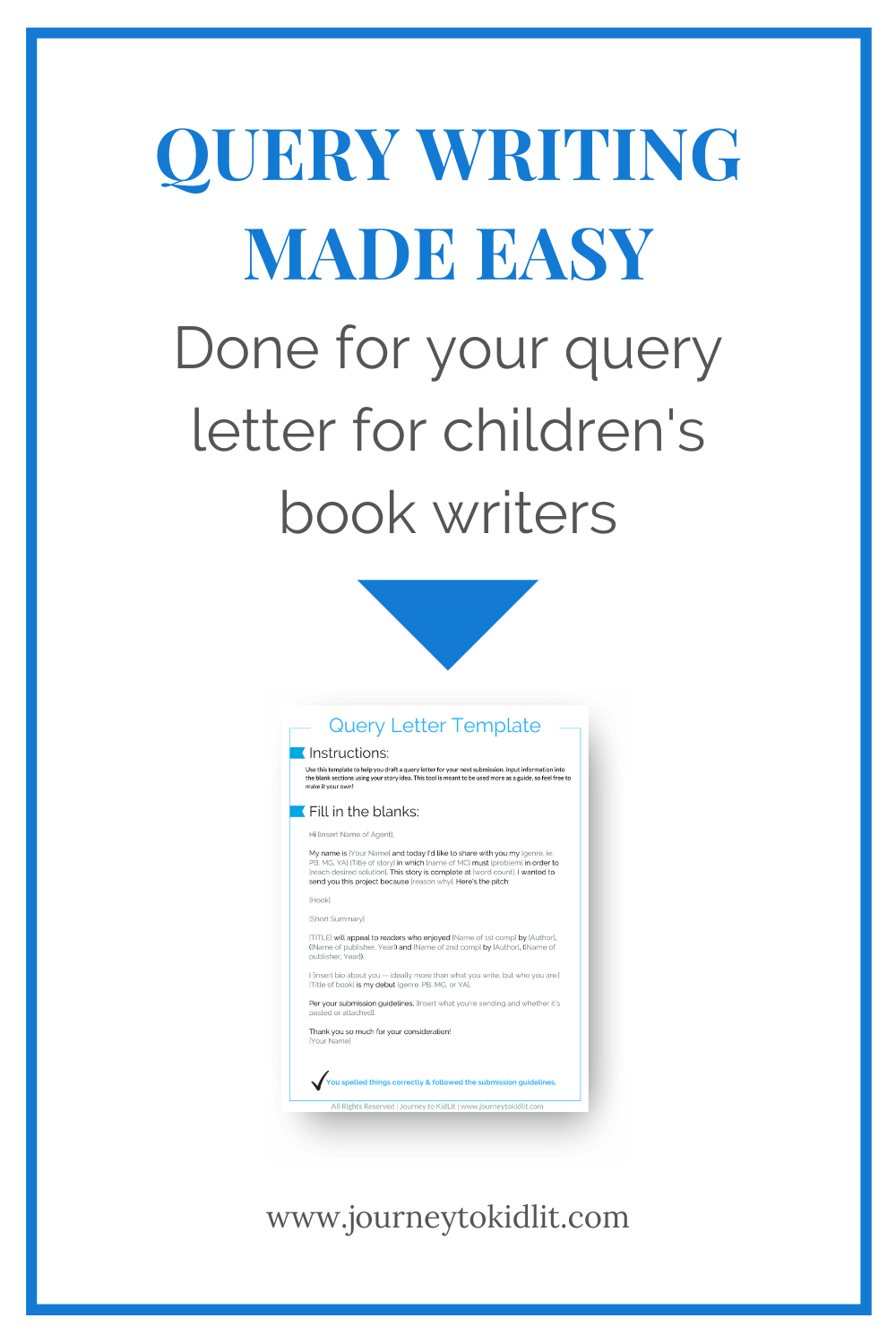 How to write a good query letter  Query letter writing tips  How