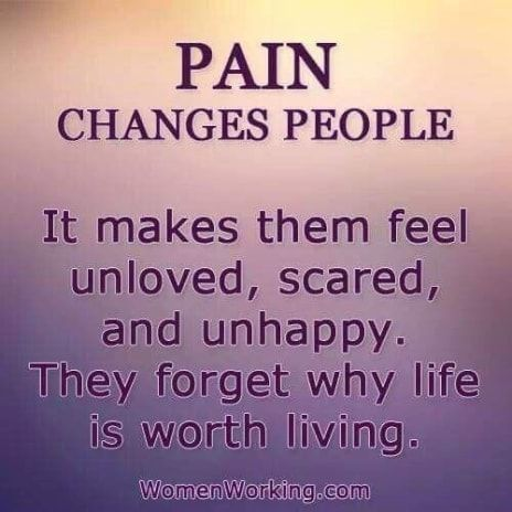 The pain of the loss of my daughter, the pain of living with fibromyalgia makes life unbearable. Please God come take me Home.