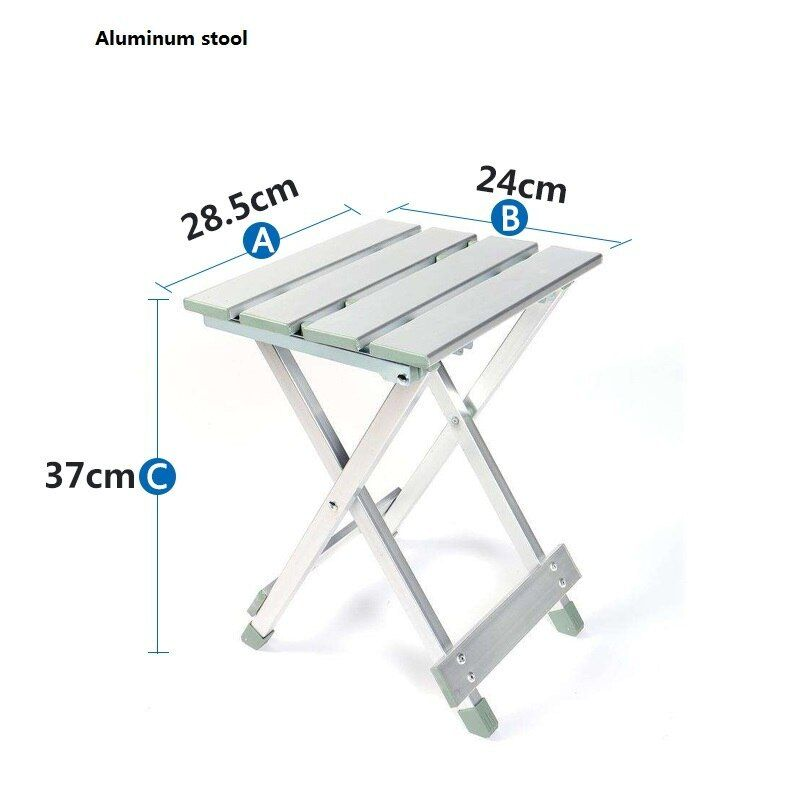 Outdoor Leisure Aluminum Folding Table And Chairs Simple Picnic Table Stall Camping Activity Portable Table Aluminum Folding Table Folding Table Portable Table