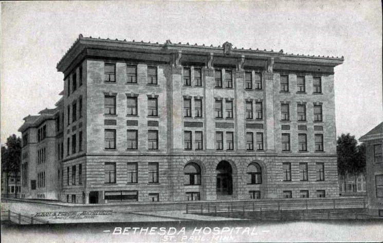 Bethesda Hospital St Paul Minnesota 1915 Minnesota Saint Paul Saint Paul Mn