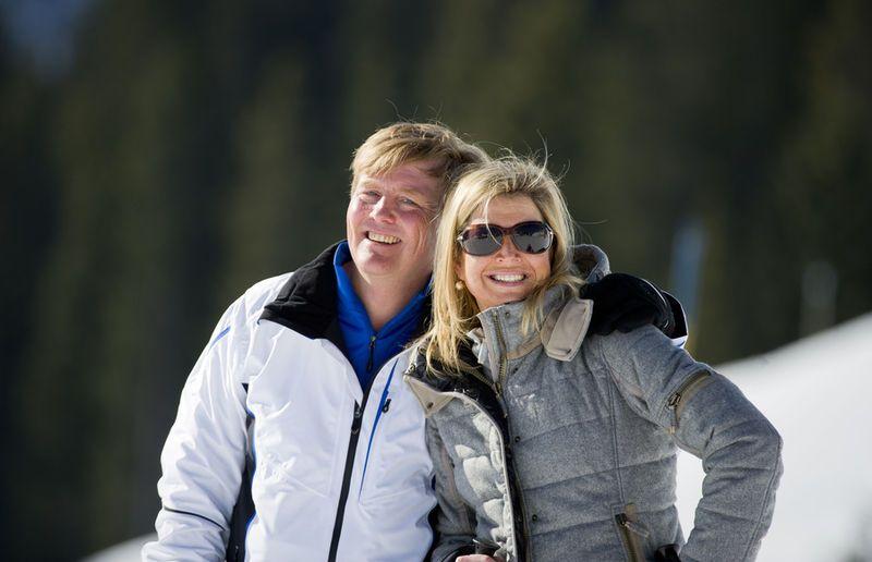 Prins Willem-Alexander en prinses ...