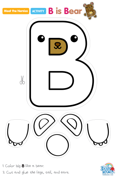 8c9030aec01 b is for bear craft - Google Search